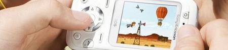 Sony motion sensing phone